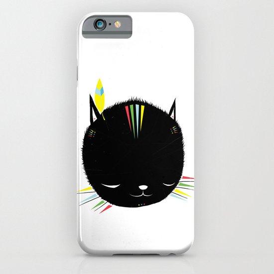 MIGHTY TIGARRR, BLACK KITTEN 묘 iPhone & iPod Case