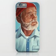iPhone & iPod Case featuring Steve Zissou by Sam Gilbey
