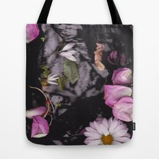 Black/Pink Tote Bag