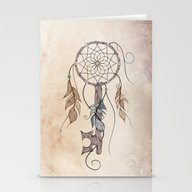 Stationery Cards featuring Key To Dreams  by LouJah