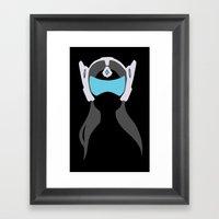 Symmetra Framed Art Print