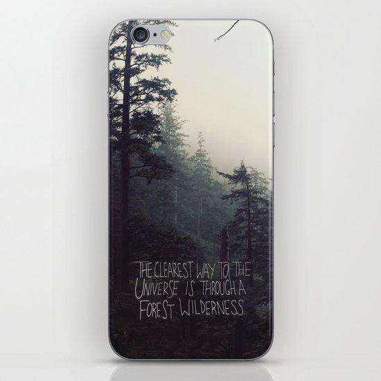 Forest Universe II iPhone & iPod Skin