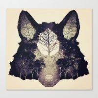 Forest Whisper (alt.) Canvas Print