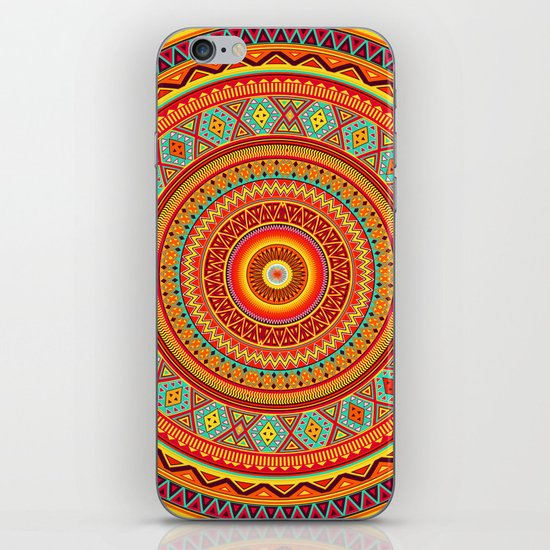 Mandala Aztec Pattern iPhone & iPod Skin
