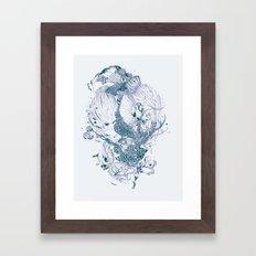 Beautiful Stranger Framed Art Print