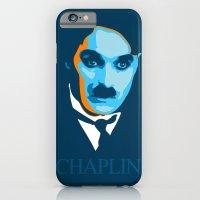 iPhone & iPod Case featuring Charlie Chaplin by Ciaran Monaghan Art