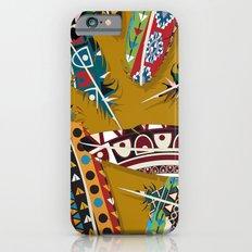Boho Feather Pattern 1 Slim Case iPhone 6s