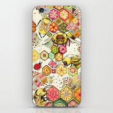 Bees Of Confusion iPhone & iPod Skin