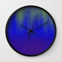 Deep Sea Reflections Wall Clock