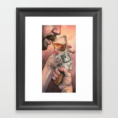 Russian Roulette Framed Art Print