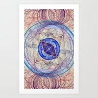 Retina Nebula I Art Print