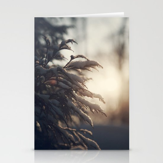Winter Morn Stationery Card