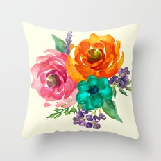 Hand Picked Fresh Throw Pillow