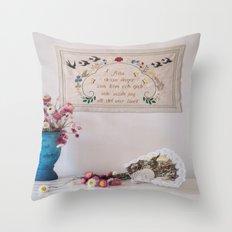 All those days Throw Pillow