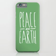 Peace on Earth (Green) Slim Case iPhone 6s