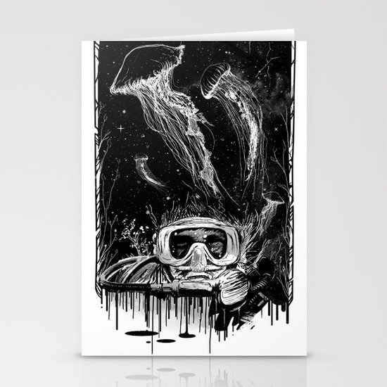 Underwater Vision Stationery Card