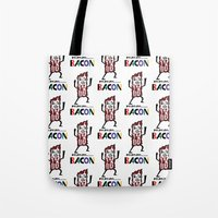 mmm bacon Tote Bag