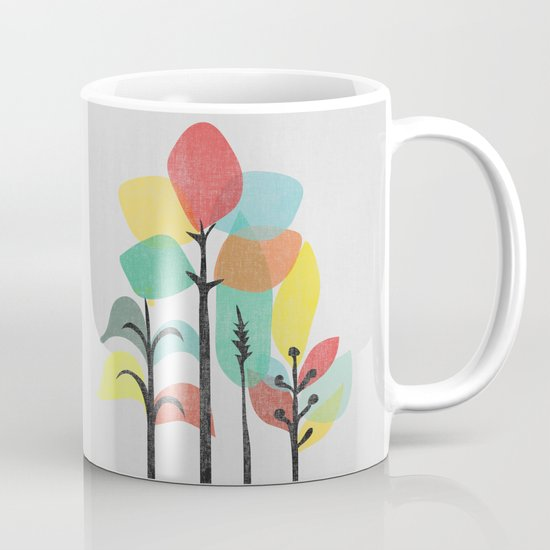 Tropical Groove (gray) Mug
