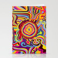 The Dancing Colors Stationery Cards