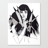 All Of My Dreams Are Mem… Canvas Print