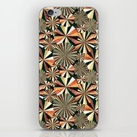 fun geometry iPhone & iPod Skin