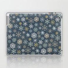 night time snow  Laptop & iPad Skin
