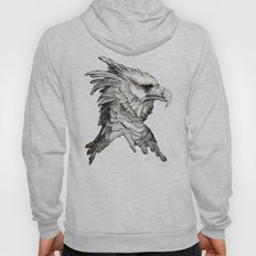 Hawk profile  Hoody