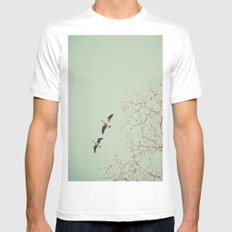 Let's get lost  White Mens Fitted Tee SMALL