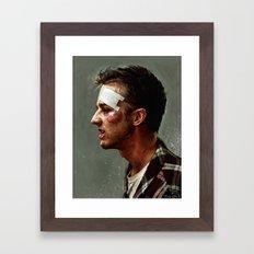 I'd Fight Ghandi Framed Art Print