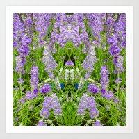 The Lavender Throne Art Print