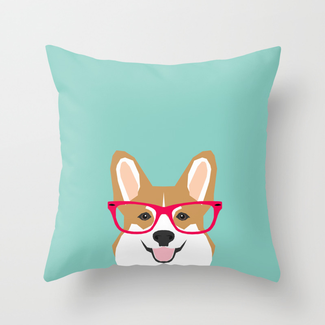 Cute Throw Pillow Society6 : Red Humor Throw Pillows Society6