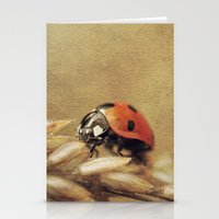 7 Spotted Lady Stationery Cards