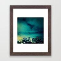 citygirl Framed Art Print