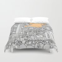 Street in China Duvet Cover