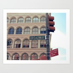 - Broadway Art Print