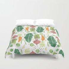 Garden Vegetables Duvet Cover