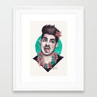 Miami Bitch Framed Art Print