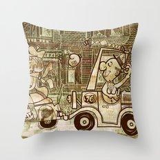 nice spot Throw Pillow