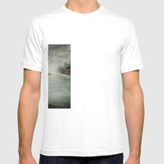 Niagara Falls New York  Mens Fitted Tee SMALL White