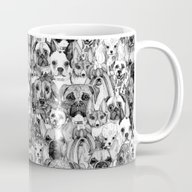Christmas Dogs Mug