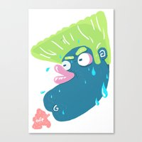 Chicken Farts Canvas Print