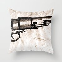 American Pistol II Throw Pillow