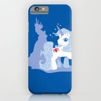 iPhone & iPod Case featuring My Little Last Unicorn by Ashley Hay