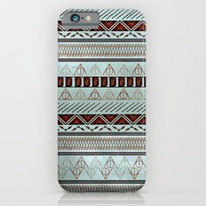 Harry Tribal Print Potter- Horcrux Blue iPhone 6 Slim Case