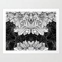cyber flower 2 Art Print