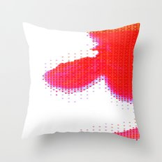 Red Heaven Throw Pillow