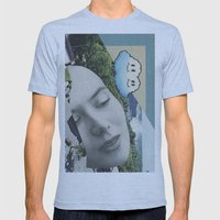 Postcard #22 Mens Fitted Tee Athletic Blue SMALL