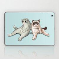 Grumpy Friend Laptop & iPad Skin