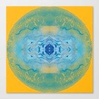 Sonic Mandala Canvas Print
