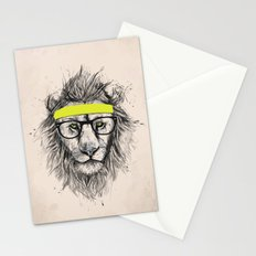 Hipster lion (light version) Stationery Cards